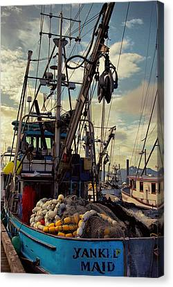 Alaska Yankee Maid Trawler Canvas Print