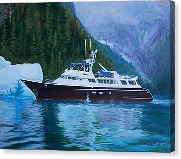 Alaskan Cruise Canvas Print