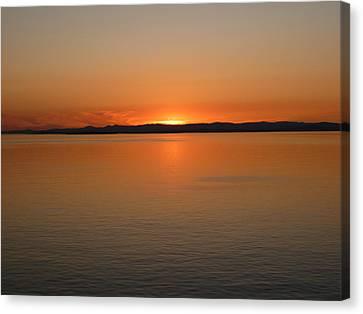 Alaskan Dawn Canvas Print