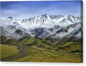 Foothills Canvas Print - Alaskan Dream by Rick Berk