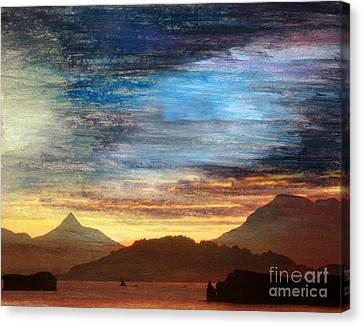 Alaskan Evening Canvas Print by R Kyllo