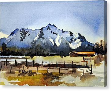 Alaskan Springtime Canvas Print by Spencer Meagher