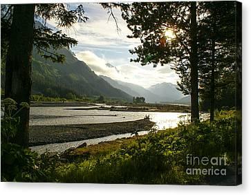 Alaskan Valley Canvas Print by Jennifer White