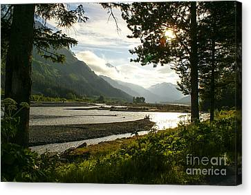 Alaskan Valley Canvas Print