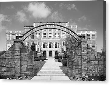 Albany Law School Gate Canvas Print by University Icons
