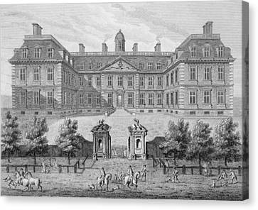 Albemarle House, Formerly Clarendon Canvas Print by Wise