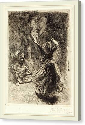 Albert Besnard, The Dancer Of Tanjore La Bayadère De Canvas Print