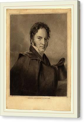 Albert Newsam After Thomas Sully, Gideon Fairman, American Canvas Print