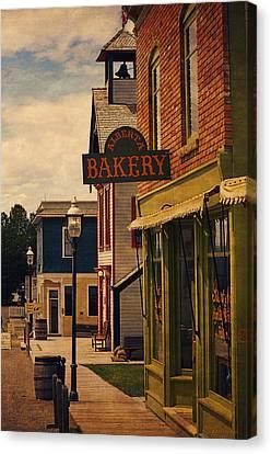 Boulangerie Canvas Print - Alberta Bakery I by Maria Angelica Maira