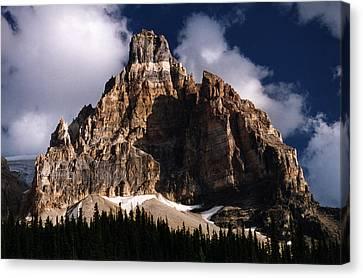 Alberta Canada  Mt. Peak Canvas Print