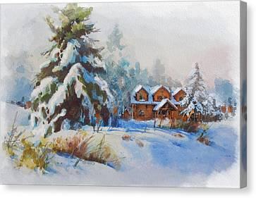 Alberta Landscape 05 Canvas Print