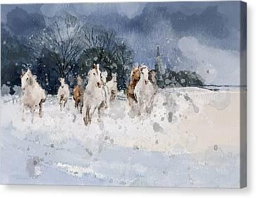 Alberta Landscape 7 Canvas Print