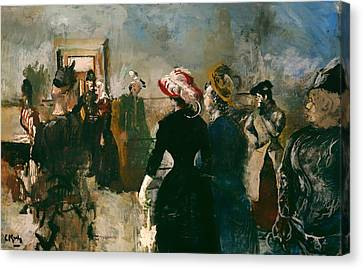 Policeman Canvas Print - Albertine - Norway by Mountain Dreams