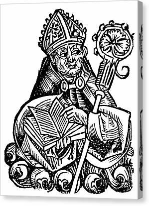 Albertus Magnus Canvas Print by Universal History Archive/uig