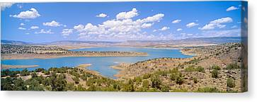 Albiquiu Reservoir, Route 84, New Mexico Canvas Print by Panoramic Images