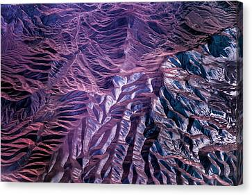 Alborz Mountains Canvas Print by Paul Williams