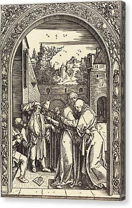 Albrecht Dürer German, 1471 - 1528, Joachim And Anna Canvas Print by Quint Lox