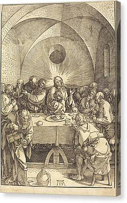 Last Supper Canvas Print - Albrecht Dürer German, 1471 - 1528, The Last Supper by Quint Lox