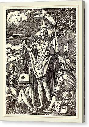 Albrecht Dürer German, 1471-1528, The Resurrection Canvas Print