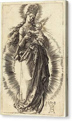 Albrecht Dürer German, 1471 - 1528, The Virgin And Child Canvas Print