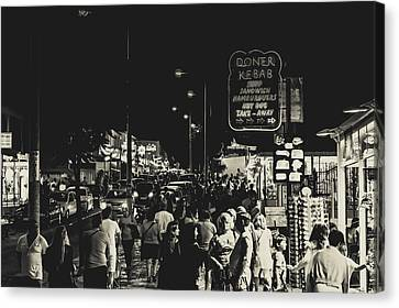 Albufeira Street Series - Doner Kebab I Canvas Print by Marco Oliveira