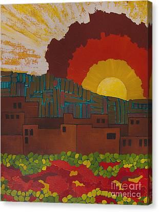 Albuquerque Nm Canvas Print by Lena Wilhite