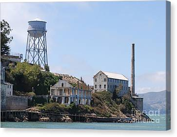 Alcatraz Canvas Print by George Mount