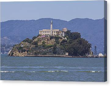 Alcatraz Island Canvas Print by John McGraw