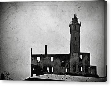 Alcatraz Canvas Print - Alcatraz Island Lighthouse by RicardMN Photography