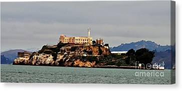 Alcatraz Island - The Rock Canvas Print