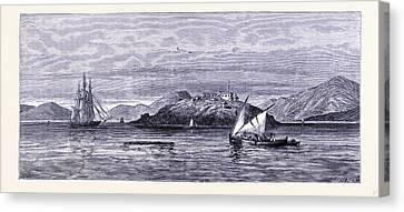 Alcatraz Canvas Print - Alcatraz Island United States Of America by American School