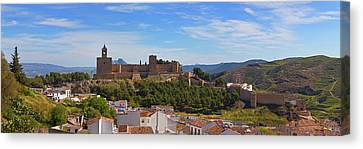 Alcazaba Castle In Antequera, Malaga Canvas Print by Panoramic Images