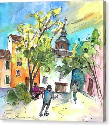 Alcazar De San Juan 02 Canvas Print by Miki De Goodaboom