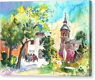 Alcazar De San Juan 03 Canvas Print by Miki De Goodaboom