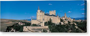 Historic Architecture Canvas Print - Alcazar Segovia Spain by Panoramic Images
