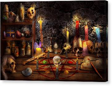 Alchemy - That Old Black Magic Canvas Print