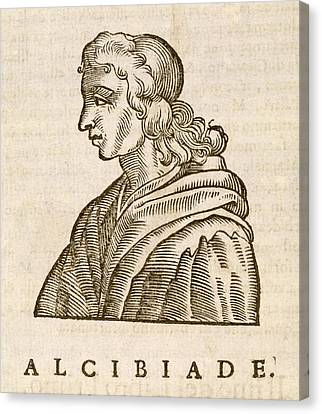 Alcibiades Canvas Print by Middle Temple Library