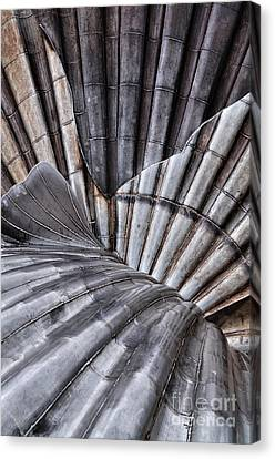 Aldeburgh Shell Abstract Canvas Print