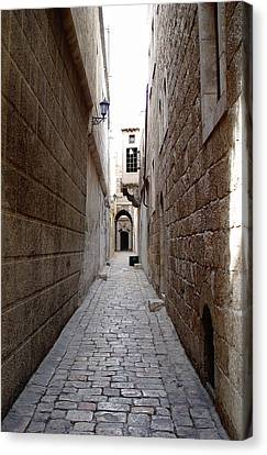 Aleppo Alleyway02 Canvas Print