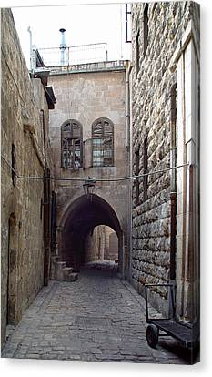 Aleppo Alleyway03 Canvas Print