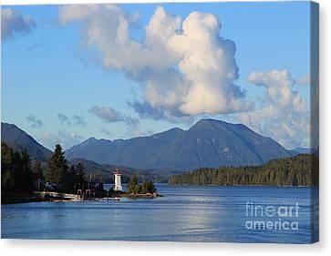 Alert Bay Alaska Canvas Print by Jeanette French