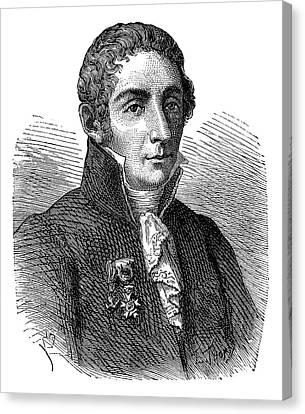 Alessandro Volta Canvas Print
