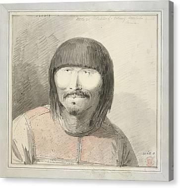 Aleut Man Of Unalaska Island Canvas Print