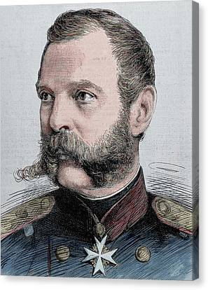 Alexander II (1818-1881 Canvas Print by Prisma Archivo