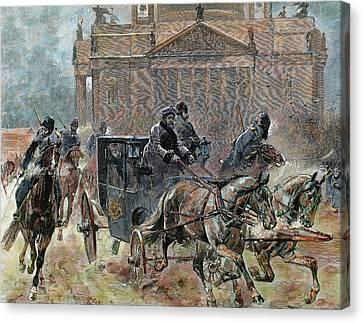 Alexander IIi (st Canvas Print