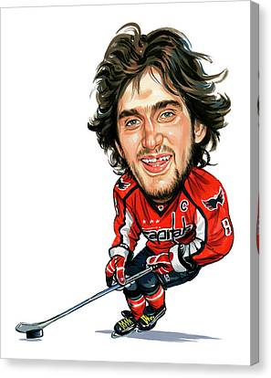 Alexander Ovechkin Canvas Print by Art