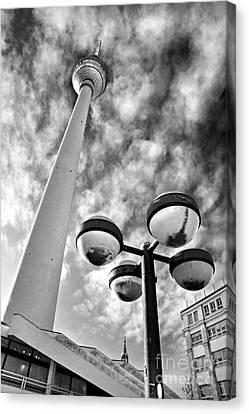 Alexander Platz - Berlin Canvas Print by Luciano Mortula