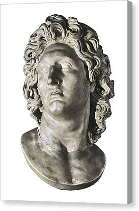 Alexander The Great 356-323 Bc. King Canvas Print