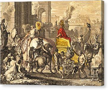 Alexander The Great Entering Babylon Canvas Print by Getty Research Institute