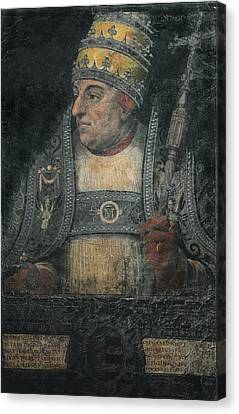 Alexander Vi 1431-1503. Pope From 1492 Canvas Print by Everett